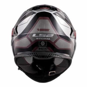 LS2 FF800 Storm Faster Gloss Titanium Full Face Helmet 1