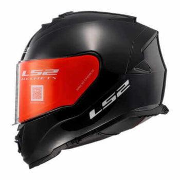 LS2 FF800 Storm Gloss Solid Black Full Face Helmet