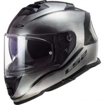 LS2 FF800 Storm Jeans Gloss Titanium Full Face Helmet 3
