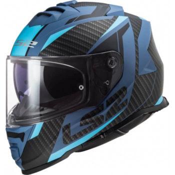 LS2 FF800 Storm Race Gloss Blue Full Face Helmet