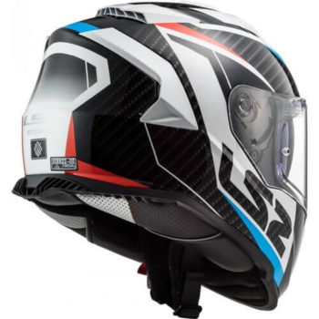 LS2 FF800 Storm Racer Gloss Blue Red Full Face Helmet 1