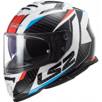 LS2 FF800 Storm Racer Gloss Blue Red Full Face Helmet