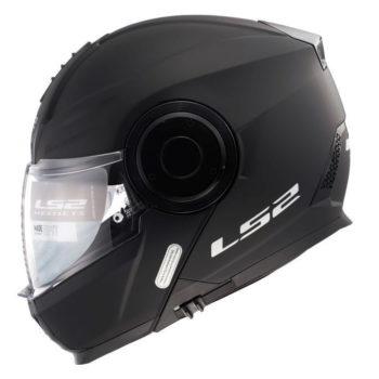 LS2 FF902 Scope Solid Matt Black Flip Up Helmet