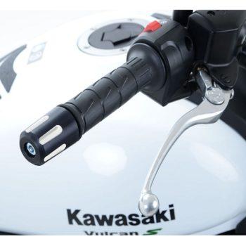 RG Bar End Sliders For Kawasaki Vulcan S and Cafe 2