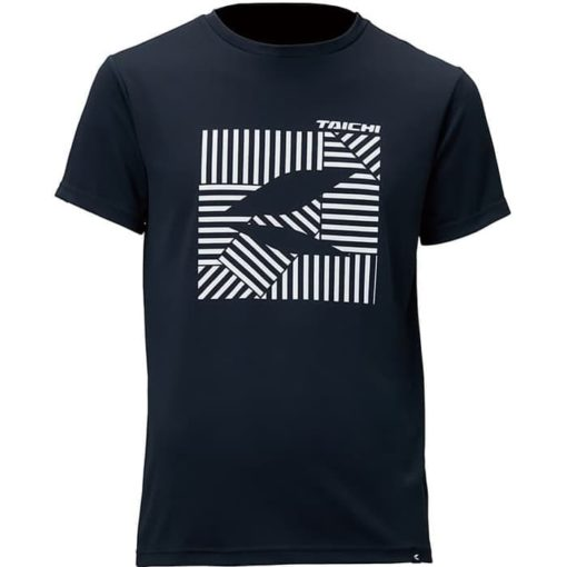 RS TAICHI C R Dice Black Riding Innerwear T Shirt