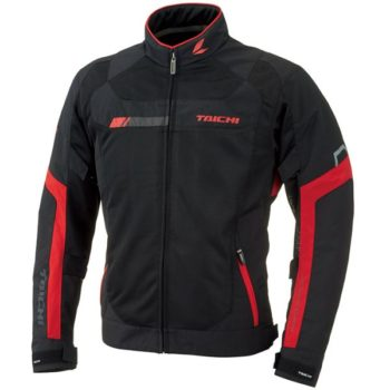 RS Taichi Cross Over Mesh Black Red Jacket new