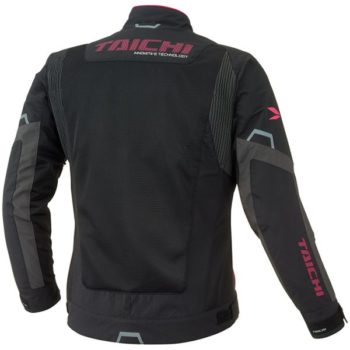 RS Taichi Cross Over Mesh Women Black Pink Riding Jacket 2