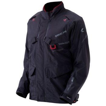 RS Taichi Drymaster Explorer Women Black Grey Riding Jacket