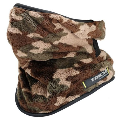 RS Taichi Fleece Face Mask Brown Camo