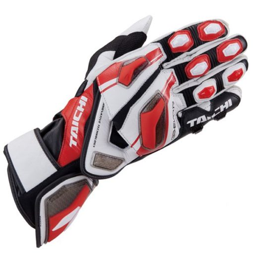 RS Taichi GP Evo R Racing Red Gloves New 2