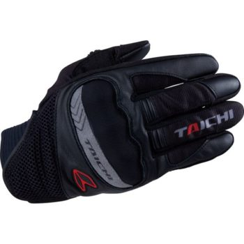 RS Taichi Scout Mesh Black Red Gloves