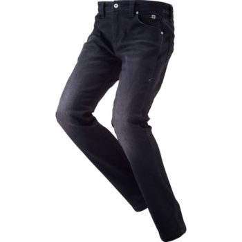 RS Taichi Windproof Stretch Black Denim Pants