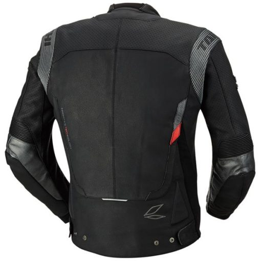 Rs Taichi GPX Raptor Perforated Leather Black Riding Jacket 2