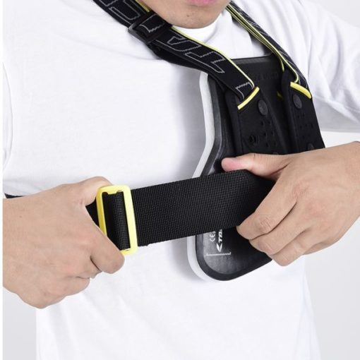 Rs Taichi Teccell Men Black Yellow Chest Protector With Belt 3