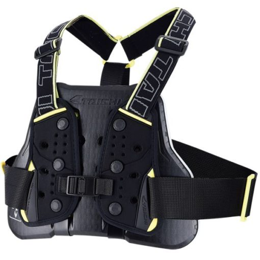 Rs Taichi Teccell Men Black Yellow Chest Protector With Belt