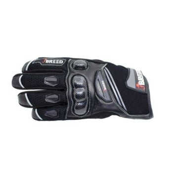 TBG Flair Black Grey Riding Gloves 2