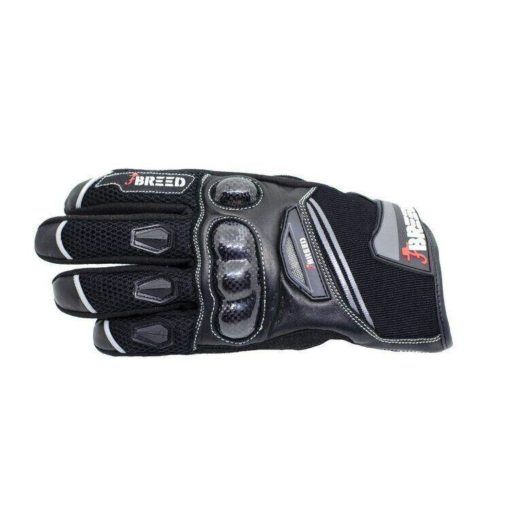 TBG Flair Black Grey Riding Gloves 2
