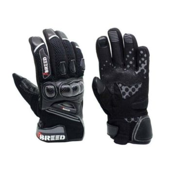 TBG Flair Black Grey Riding Gloves