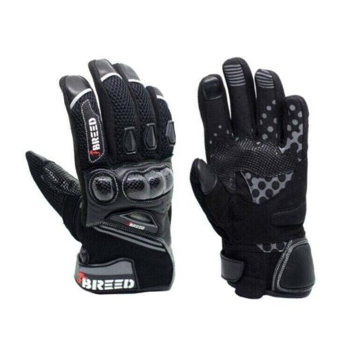 TBG Flair Black Grey Riding Gloves