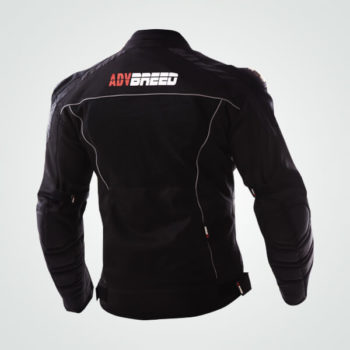 TBG Knight Waterproof Black Riding Jacket 2