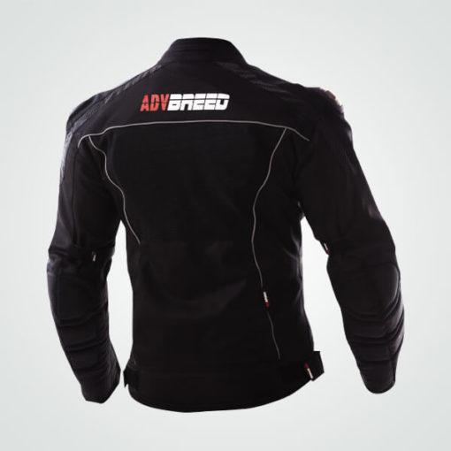 TBG Knight Waterproof Black Riding Jacket 2