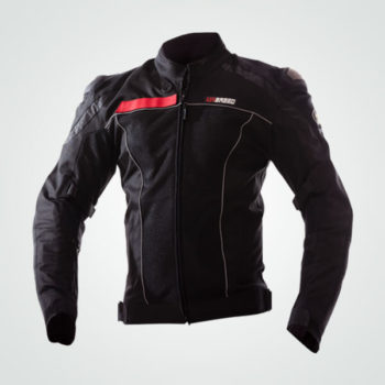 TBG Knight Waterproof Black Riding Jacket