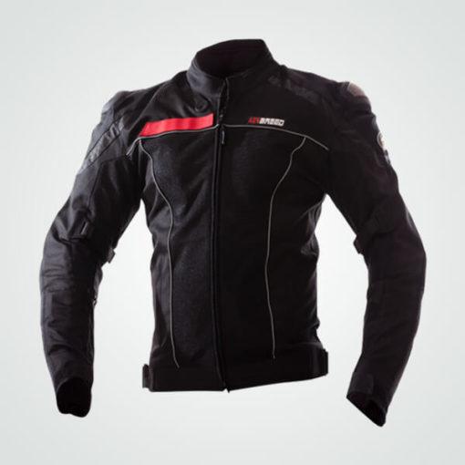 TBG Knight Waterproof Black Riding Jacket