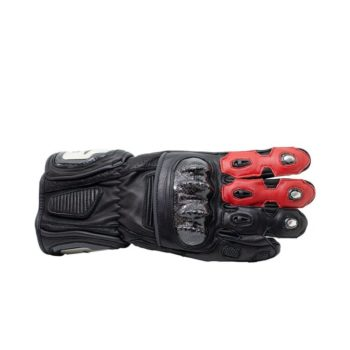 TBG Sport v2 Black Red Riding Gloves 2