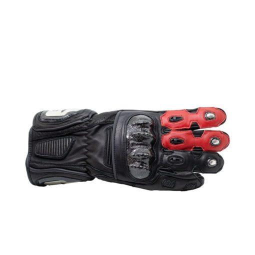 TBG Sport v2 Black Red Riding Gloves 2