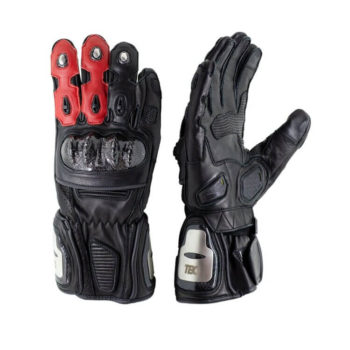 TBG Sport v2 Black Red Riding Gloves