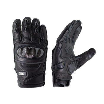 TBG Street Black Riding Gloves