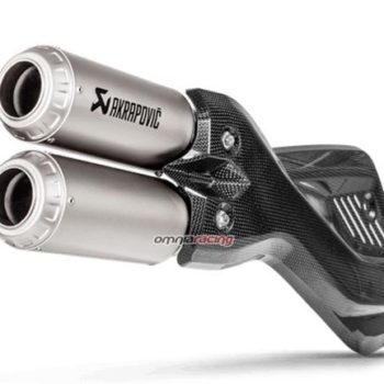 Akrapovic Titanium Slip On Exhaust For Ducati Multistrada 950 1200