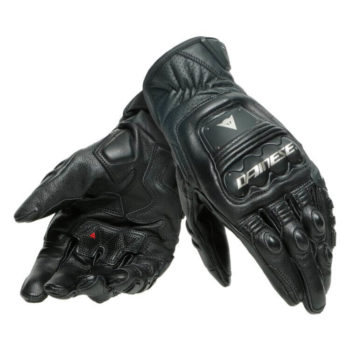 Dainese 4 Stroke 2 Black Riding Gloves
