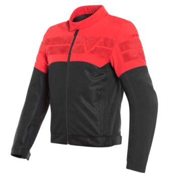 Dainese Air Track Tex Black Red Riding Jacket