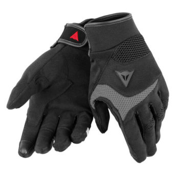 Dainese Desert Poon D1 Unisex Black Grey Riding Gloves