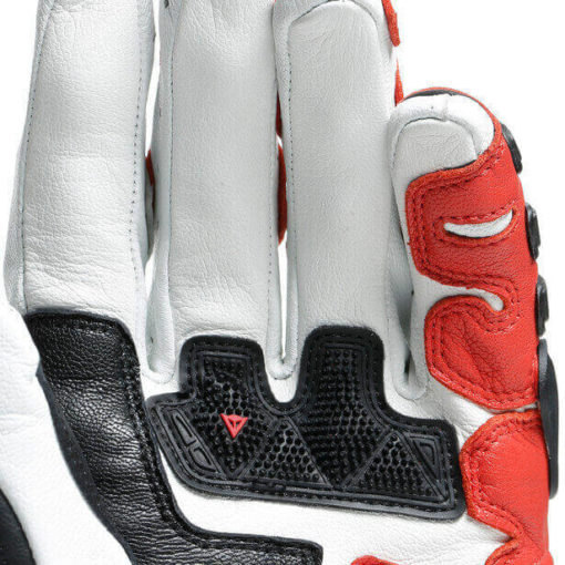 Dainese Druid 3 Black White Lava Red Riding Gloves 3