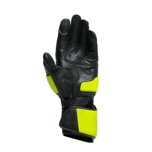 Dainese Impeto Black Fluorescent Yellow Riding Gloves 2