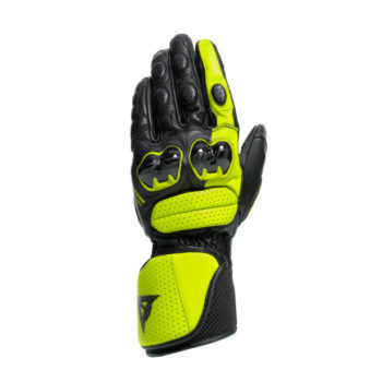 Dainese Impeto Black Fluorescent Yellow Riding Gloves