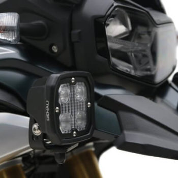 Denali Auxiliary Light Mount for BMW F750GS F850GS 1