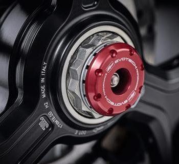 Evotech EP Rear Spindle Bobbins For Ducati Multistrada 2018 2020 2