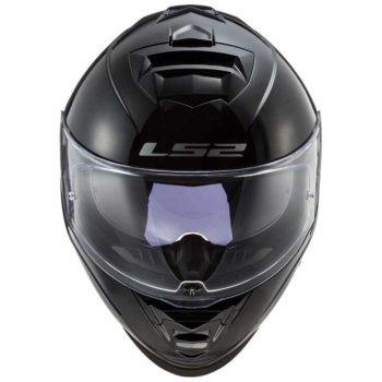 LS2 FF800 Storm Gloss Solid Black Full Face Helmet new