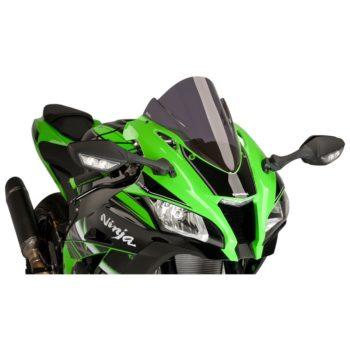 Puig Dark Smoke Racer Windscreen for Kawasaki ZX 10R