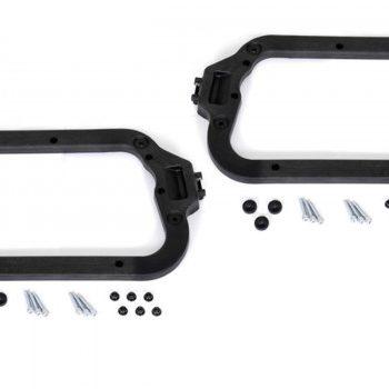 SW Motech Adapter kit for SW Motech Quick Lock EVO Carrier Hepco Becker plastic cases.