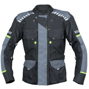 BBG Adventure Black Grey Riding Jacket new