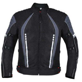 BBG Voyager Black Grey Riding Jacket 1