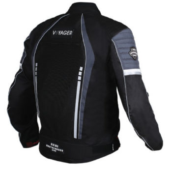 BBG Voyager Black Grey Riding Jacket 2 1
