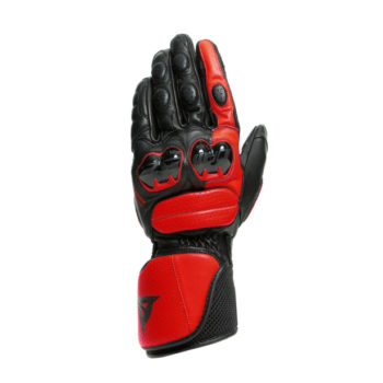 Dainese Impeto Black Lava Red Riding Gloves