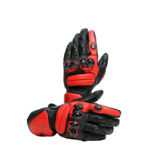 Dainese Impeto Black Lava Red Riding Gloves 4