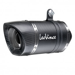 Leovince Triumph Street Triple 765 LV One Pro Carbon Fiber Slip On Exhaust