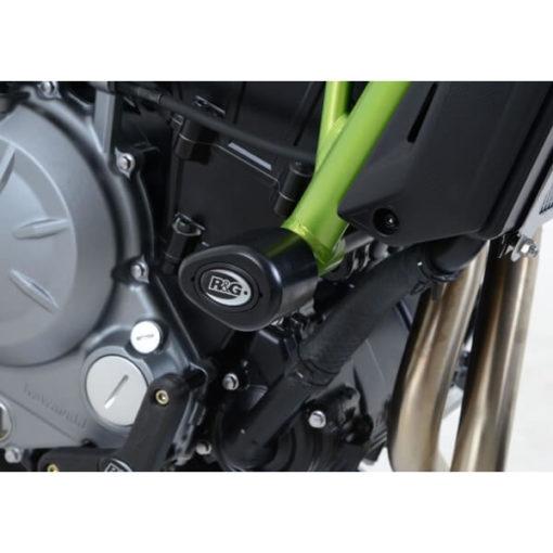 R G Aero Style Black Crash Protectors for Kawasaki Ninja 650 Z650 2017 new